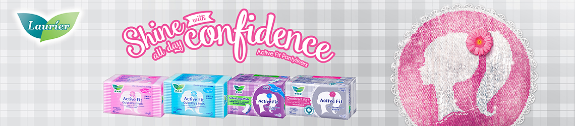 Active Fit Pantyliners Archives - Laurier Singapore